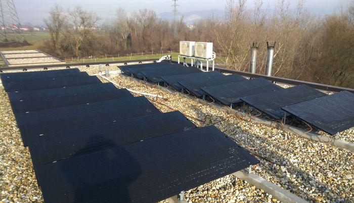 Solarni panel na krovu